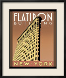 Flatiron Building Posters by Brian James