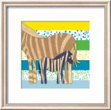 Zebra Family Prints