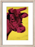 Cow, c.1966 (Yellow and Pink) Poster by Andy Warhol