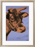 Cow, c.1971 (Purple and Orange) Posters by Andy Warhol