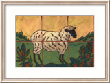 Sheep Prints by Susan Tuckerman
