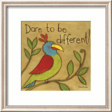 Be Different Poster by Anne Tavoletti