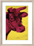 Cow, c.1966 (Yellow and Pink) Affiches par Andy Warhol