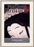 New York City, Madame Butterfly Framed Giclee Print