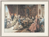 An Afternoon Concert Prints by Arturo Ricci