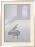 Wallspace with Piano, 1984 Posters by Perry King
