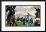 After The Bell-Newcastle Races Limited Edition Framed Print by Jay Boyd Kirkman