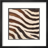 Contemporary Zebra IV Prints by Patricia Quintero-Pinto