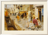 Breezy Day In Venice Prints by Ettore Tito