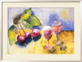 Glass and Cherry Art by Witka Kova