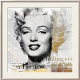 Legenden I, Marilyn Posters by Gery Luger