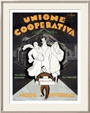 Unione Cooperativa Indrammet giclee-tryk af Noel Fontanet