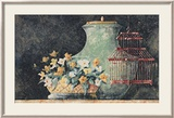 Still Life with Red Birdcage Prints by C. C. Wilson