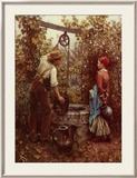 At the Well Posters by Daniel Ridgway Knight