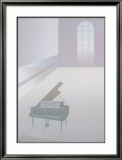 Wallspace with Piano, 1984 Prints by Perry King