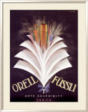 Orell Fussli Framed Giclee Print by Charles Loupot