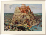 The Tower of Babel Poster by Pieter Bruegel the Elder