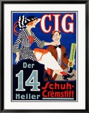 Cig Framed Giclee Print by Ranzenhofer
