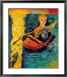 Utan titel, 1985 Affischer av Georg Dokoupil