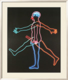 Marching Man, c.1985 Print by Bruce Nauman