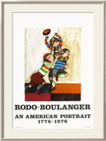 An american portrait Limited Edition Framed Print by Graciela Rodo Boulanger
