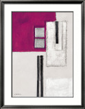 Purple Elements II Poster by K. Kostolny