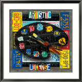 Artistic License Prints by Aaron Foster