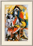 Mousquetaire et Amour Affiche par Pablo Picasso