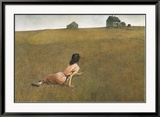 Christina&#39;s World Prints by Andrew Wyeth