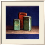 Tin Boxes I Poster von Van Riswick 
