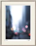 Cool Lights I Limited Edition Framed Print by Eva Mueller