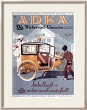 Adka Framed Giclee Print by Knittel 