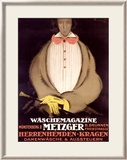 Waschemagazine Metzger Framed Giclee Print by Charles Loupot