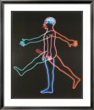 Marching Man, c.1985 Poster par Bruce Nauman