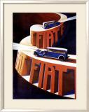 Fiat Framed Giclee Print by Giuseppe Riccobaldi