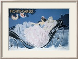 Monte-Carlo Gerahmter Gicl&#233;e-Druck von Louis Icart