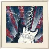 Rock Guitar Posters by Sam Appleman