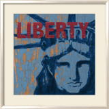 Liberty Reigns Affiche par Sam Appleman