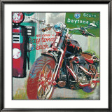Daytona Beach Affiches par Ray Foster
