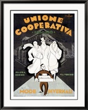 Unione Cooperativa Kehystetty giclee-vedos tekijn Noel Fontanet