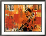 Jazz II Prints by Thierry Vieux