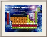 Periodic Table Póster