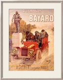 Autos Bayard Framed Giclee Print by Hugo D&#39;Alesi