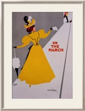 On the March Framed Giclee Print by Ritchie 