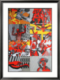 Le cri du peuple Limited Edition Framed Print by (henri Aguiella) Cueco