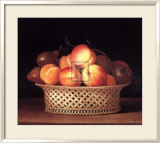 Bowl of Peaches Art by Raphael Peale