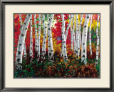 Autumn Jewel Prints by Jennifer Vranes