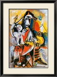 Mousquetaire et Amour Affiches par Pablo Picasso