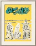 Cover For Verve, c.1951 Affiches par Pablo Picasso