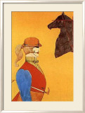 Girl in Riding Habit Poster von Richard Lindner
